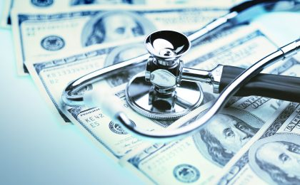 value vitals - stethoscope and dollars